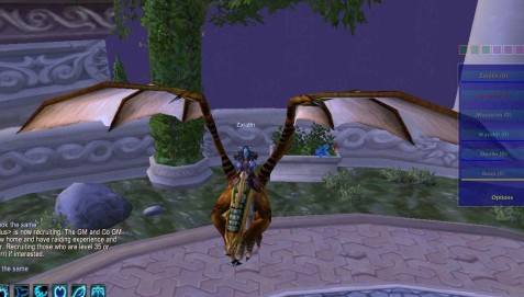 Zaralin on her Bronze Drake
